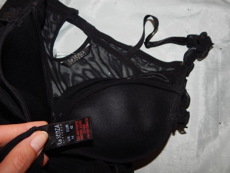 La senza пеньюар эротический baby doll р14 чёрный - Фото 3