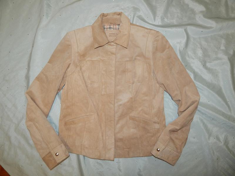 Marks&spencer куртка замшевая стильная модная р14 - Фото 2