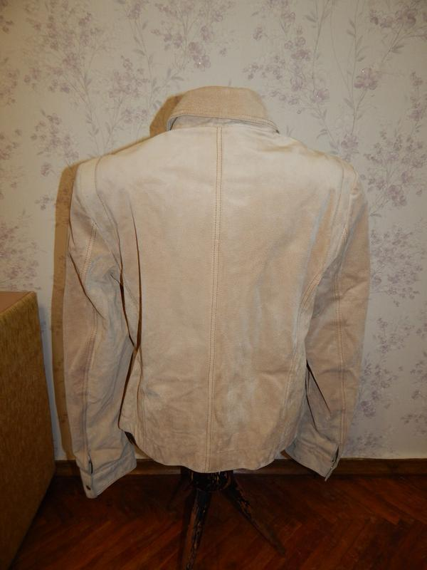Marks&spencer куртка замшевая стильная модная р14 - Фото 4