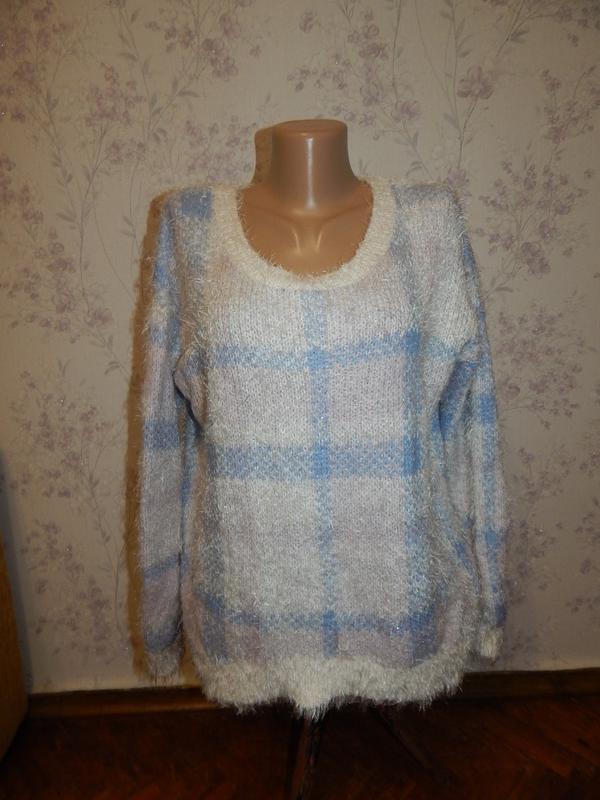 F&f женственный свитер, стильный, модный, нежный, мягкий и теп...