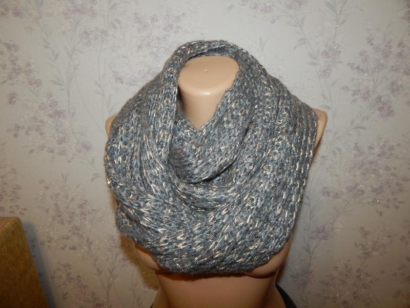 Актуальный шарф, хомут, снуд женский.