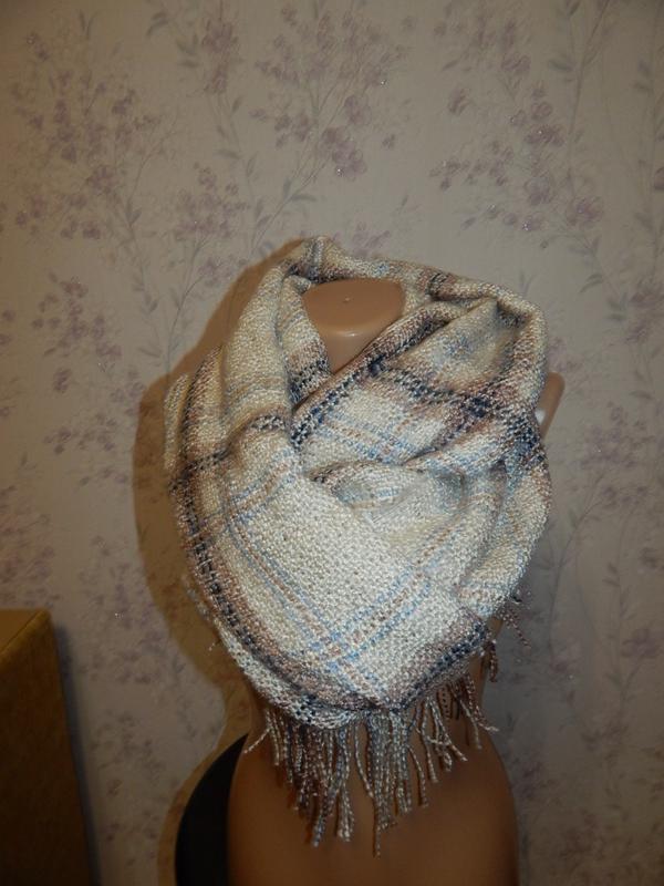 Нарядный шарф женский. стильный.