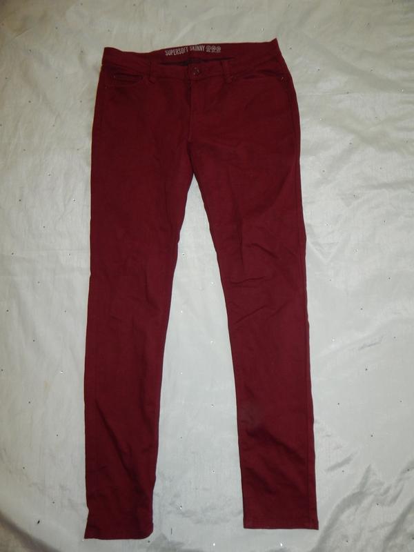 Denim co джинсы supersoft skinny р12