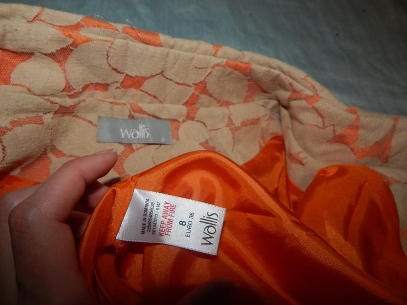 Wallis жакет гепюровый котоновый на подкладке стильный модный р8 - Фото 2