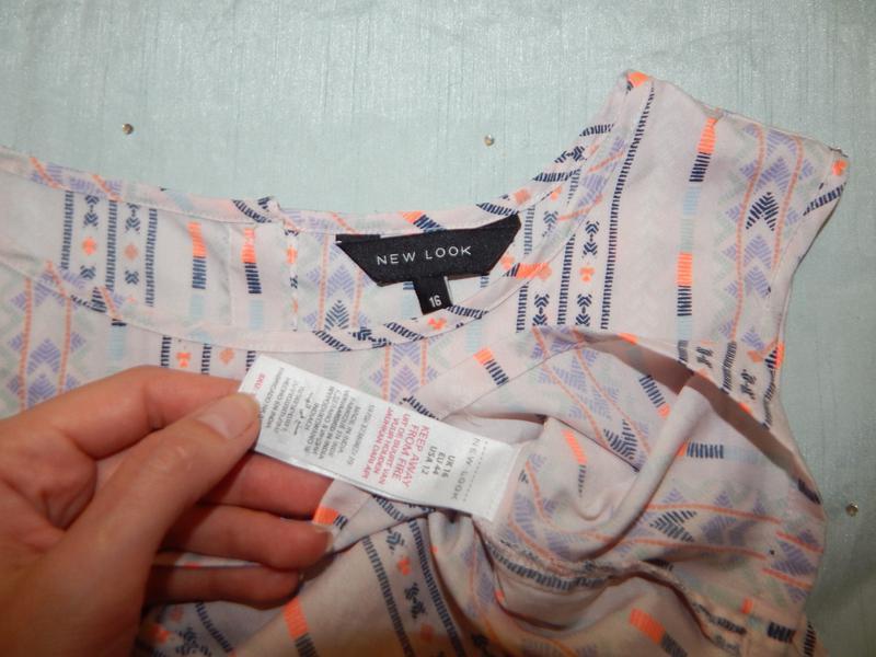 New look блузка стильная модная р16 - Фото 2