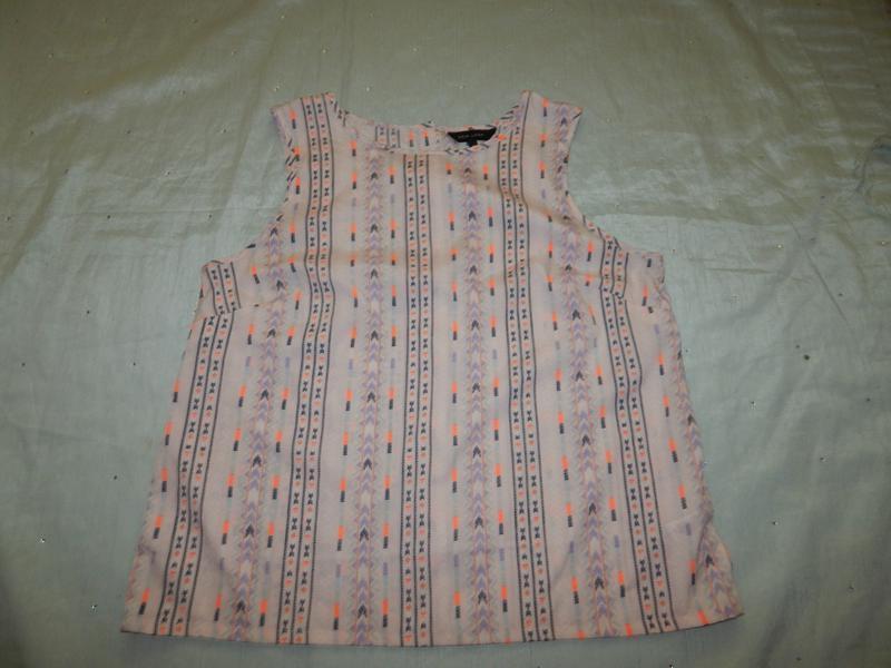 New look блузка стильная модная р16 - Фото 4