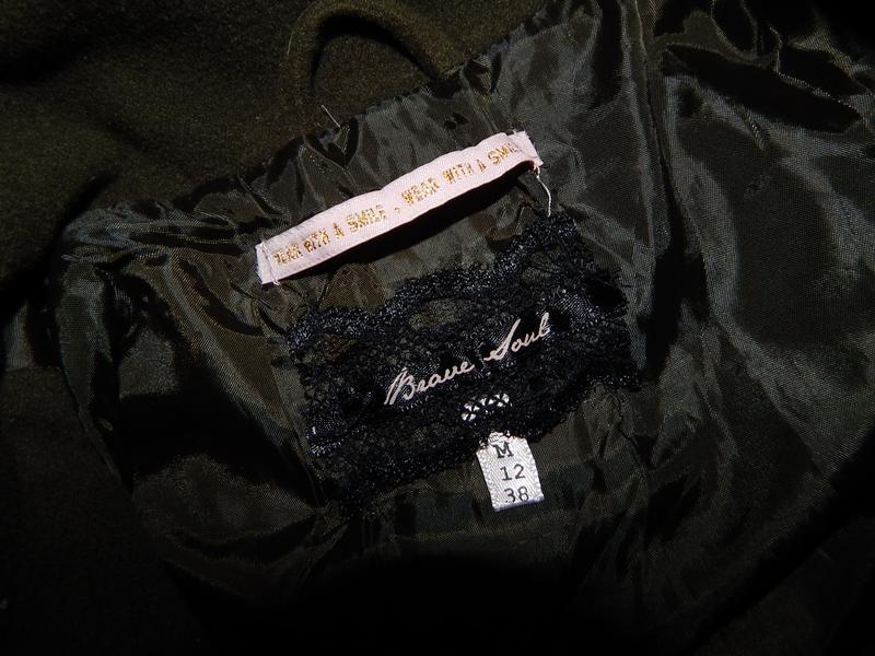 Brave soul пальто модное новое!!р 12 - Фото 3