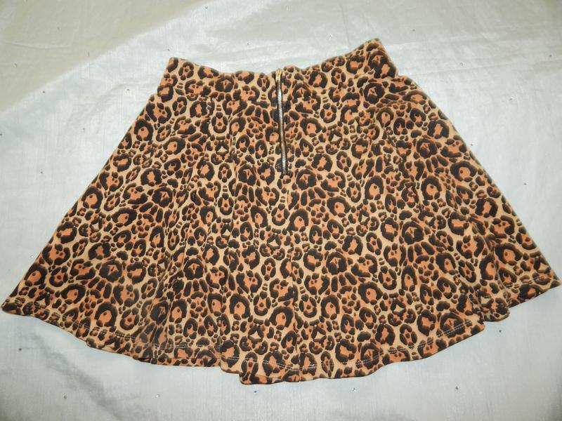 H&m юбка вискозная стильная модная р12 - Фото 2