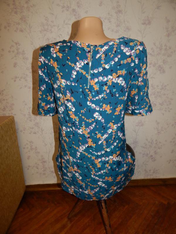 Monsoon блузка вискозная стильная модная р8 - Фото 3