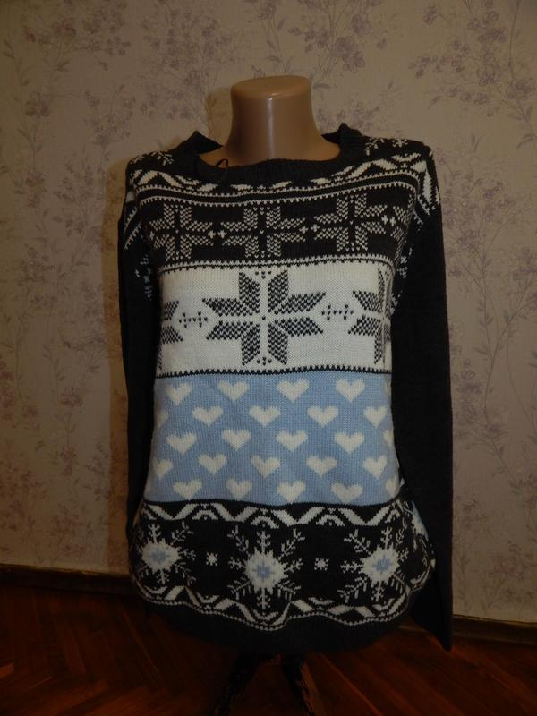 Select свитер модный стильный р 16