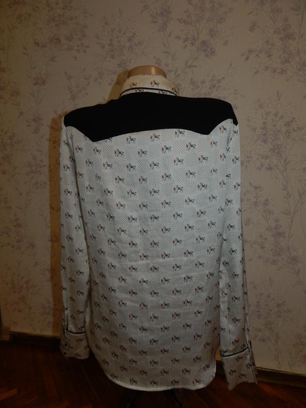 Zara блузка стильная модная р m - Фото 2
