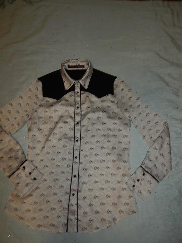 Zara блузка стильная модная р m - Фото 3