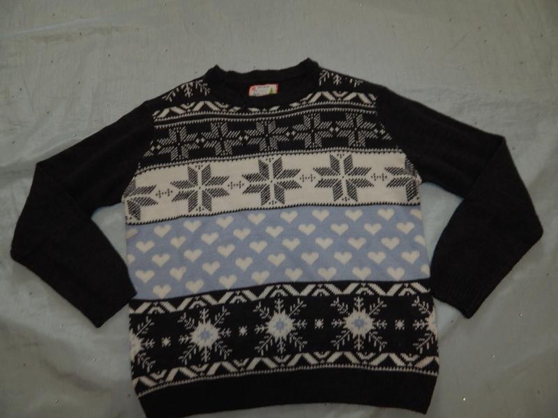 Select свитер модный стильный р 16 - Фото 4