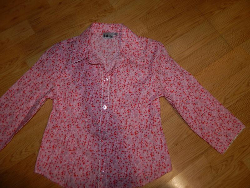 Рубашка на девочку 7-8 лет
