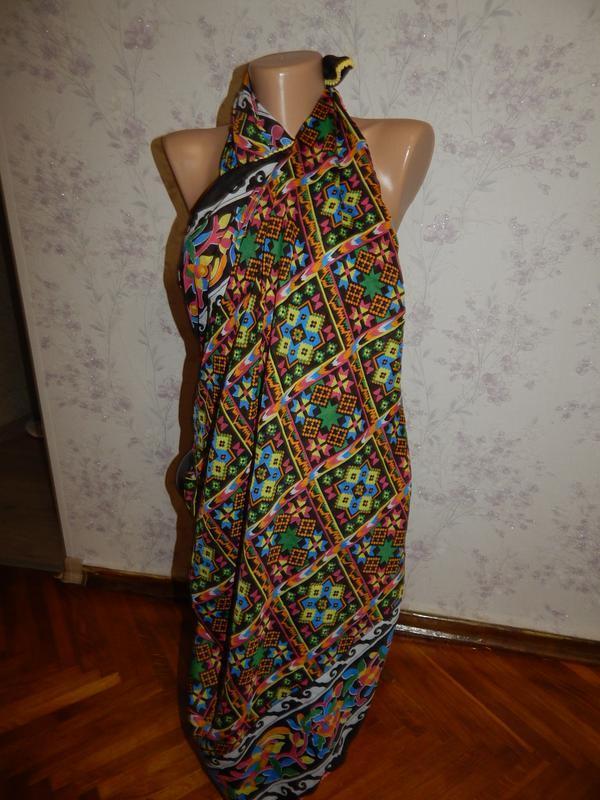 Tu шарф-парео стильный модный