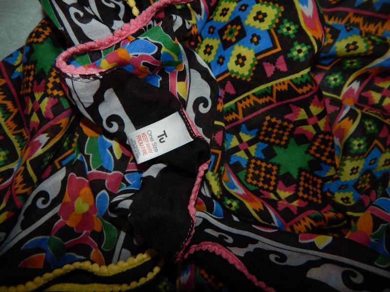 Tu шарф-парео стильный модный - Фото 3