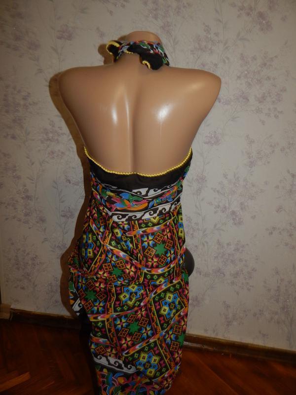 Tu шарф-парео стильный модный - Фото 5