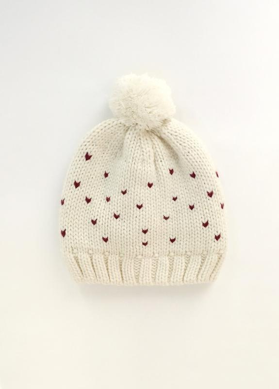 Теплая шапка kiabi девочке
