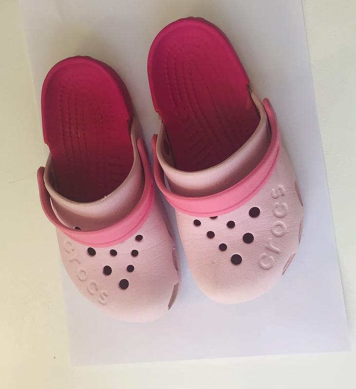 Детские шлёпанцы crocs - Фото 3