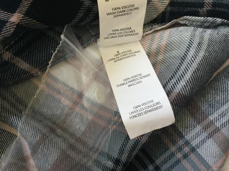 Рубашка в клктку вискоза - Фото 4