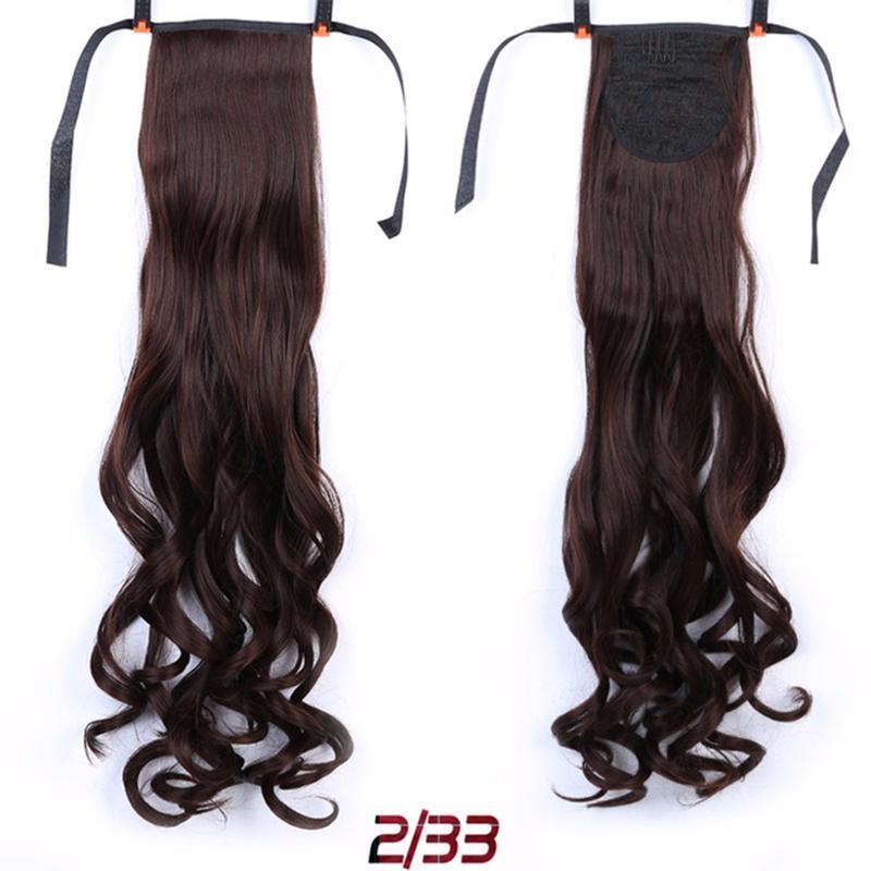 10 хвост из искусственных волос - Фото 2