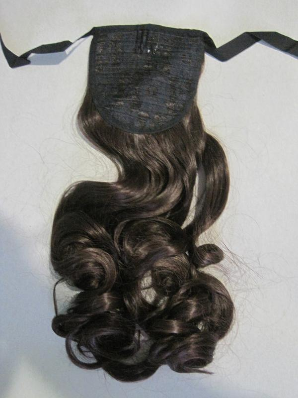 10 хвост из искусственных волос - Фото 4