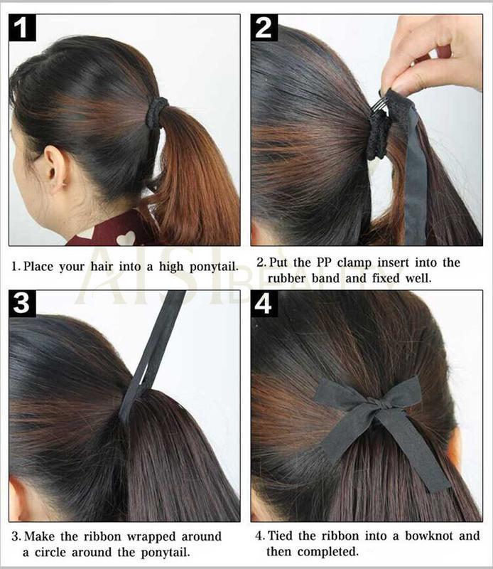 10 хвост из искусственных волос - Фото 7