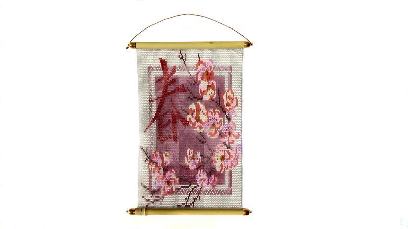 Картина панно «Сакура - дерево счастья. Талисман удачи для дома»