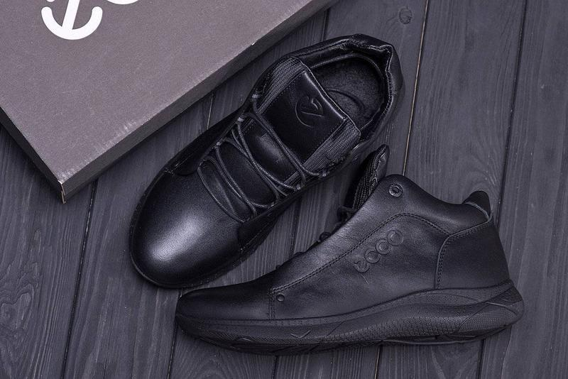 Ботинки зима Eco700Black 40-45