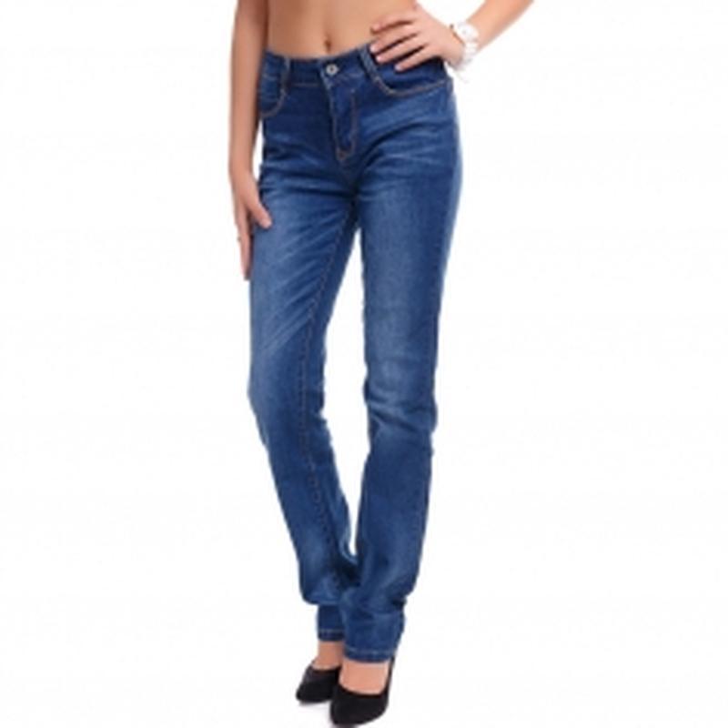 Прямые джинсы, джинсы прямого кроя