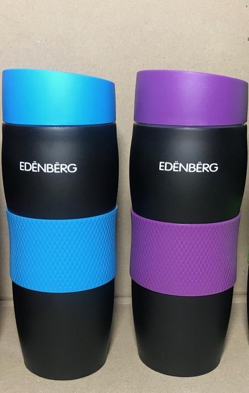 Стильная вакуумная Термокружка EDENBERG на 380 мл.