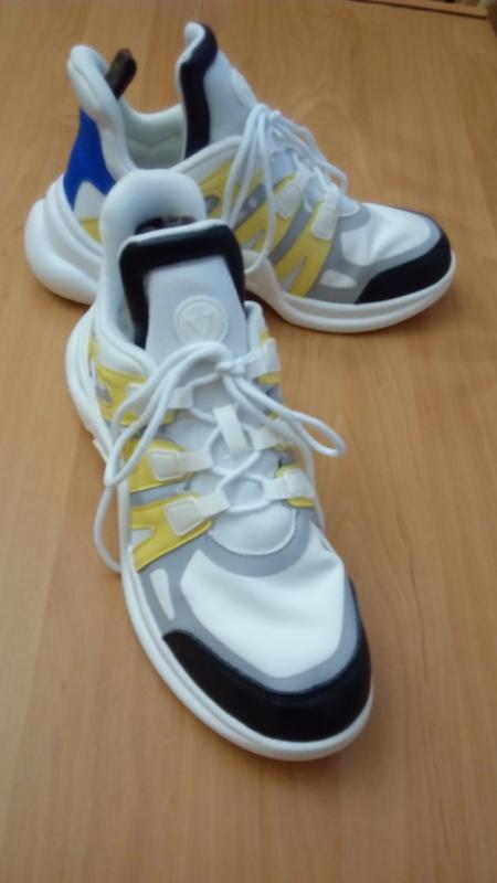 Комфортные дышащие кроссовки трендовая платформа