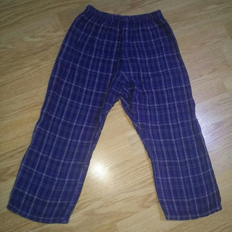 Пижамные котоновые штанишки.3-4 года.