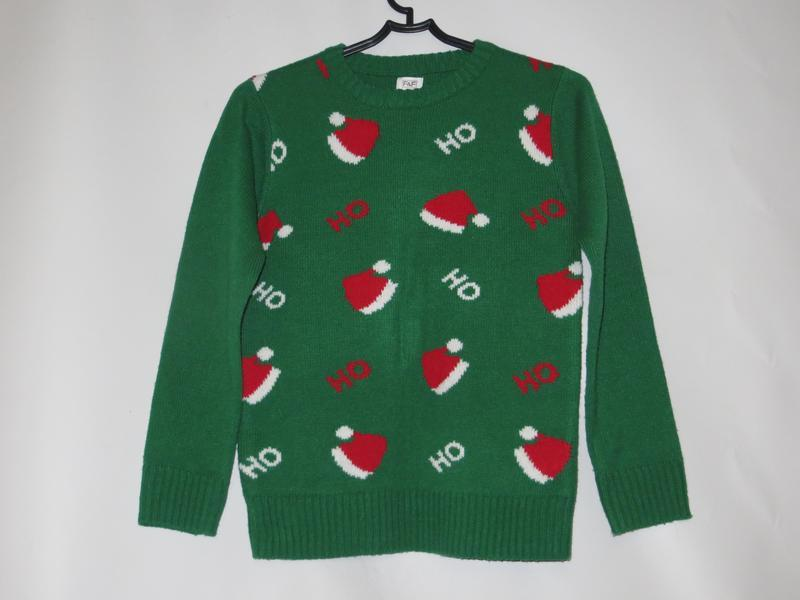Новогодний свитер 9-10лет