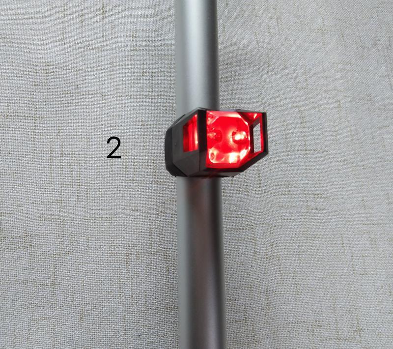 Фонарь задний для велосипеда вело фонарь