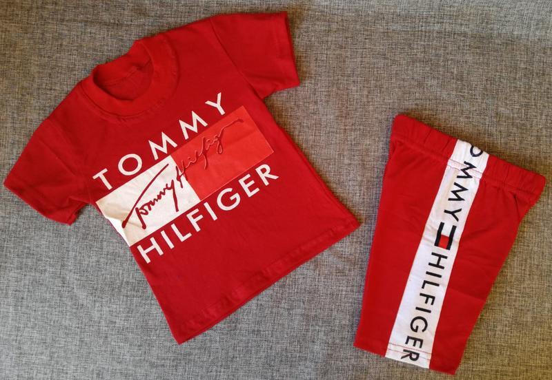 Костюм для мальчика шорты и футболка