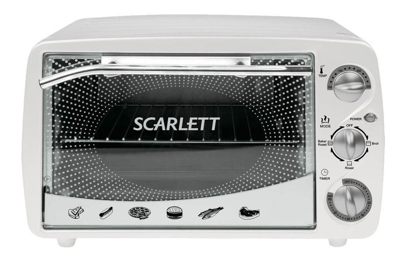 Электрическая печь SCARLETT SC-094 White