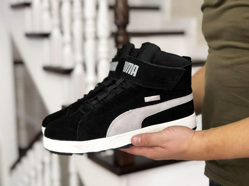 Зимние теплые кроссовки/ботинки PUMA