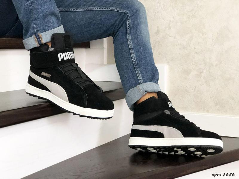 Зимние теплые кроссовки/ботинки PUMA - Фото 4