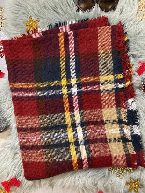 Невероятный плотный теплый шарф