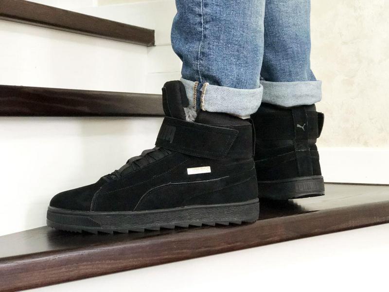 Зимние теплые кроссовки/ботинки PUMA - Фото 2