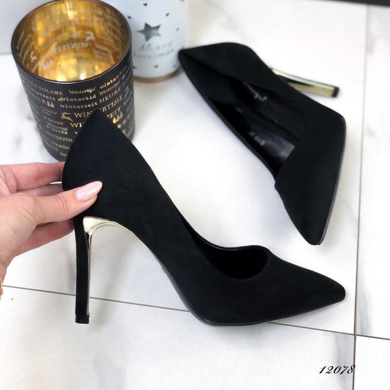 ❤ женские черные туфли лодочки ❤