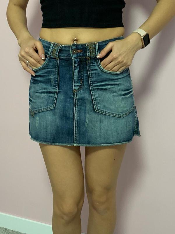 Юбка джинсовая Pimkie.