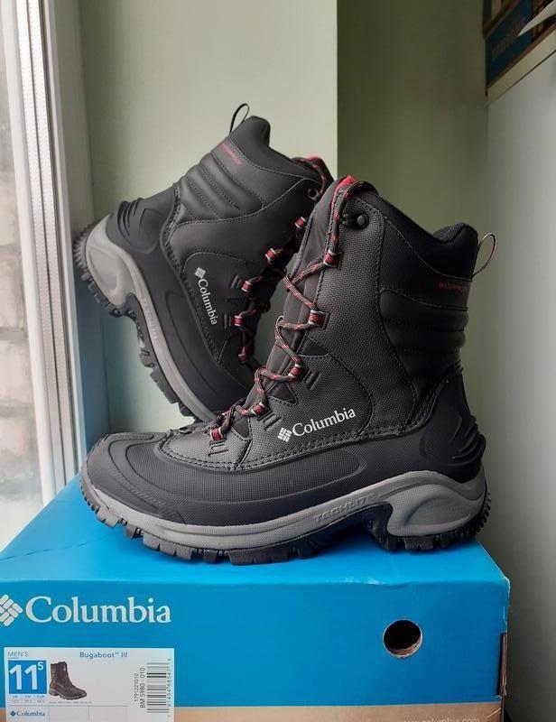 Columbia ● 29см ● кожаные водонепроницаемые термо ботинки -32с...