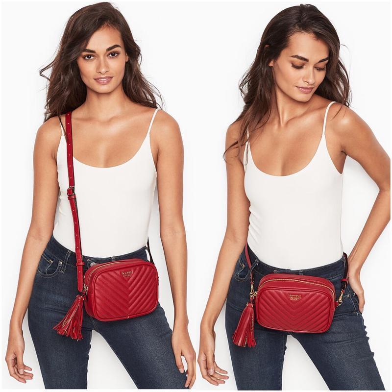 Красная сумочка victoria's secret оригинал кроссбоди сумка на ...