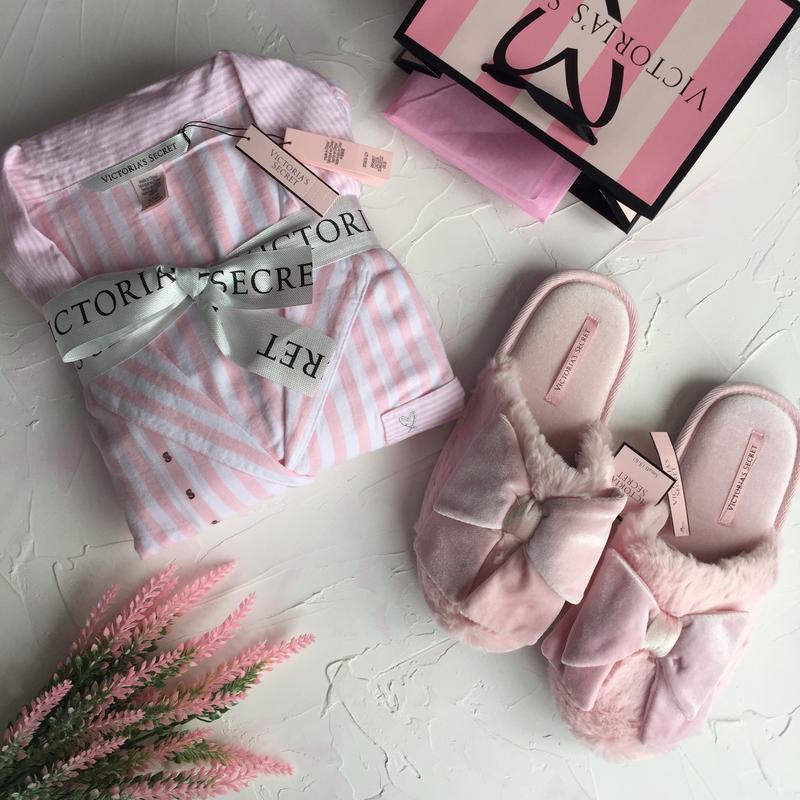 Пижама victoria's secret оригинал, пижамка со штанами и рубашк...