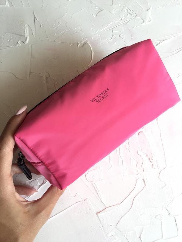 Косметичка victoria's secret оригинал, розовая косметичка викт...