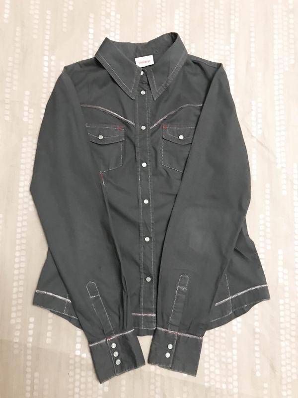 Рубашка оригинальная повседневная и стильная