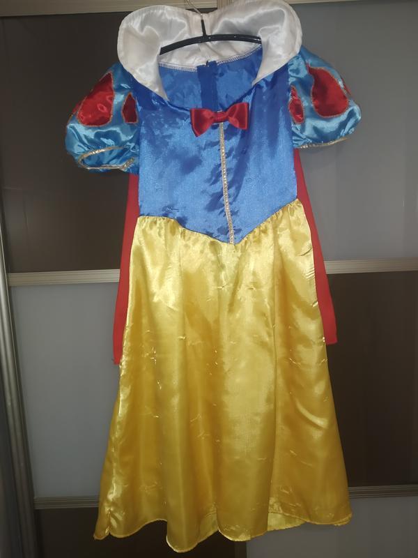 Карнавальный костюм белоснежка на 5-6 лет
