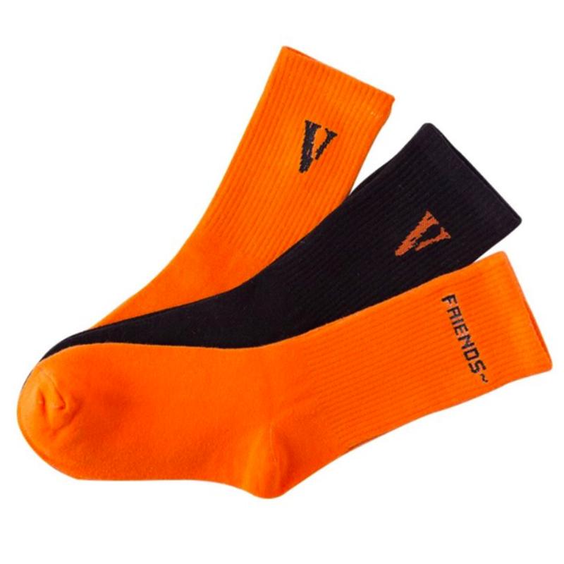 Носки Vlone [orange] - Фото 2